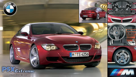 beatiful car wallpaper BMW-M6