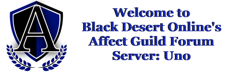 Black Desert Online:Affect Guild