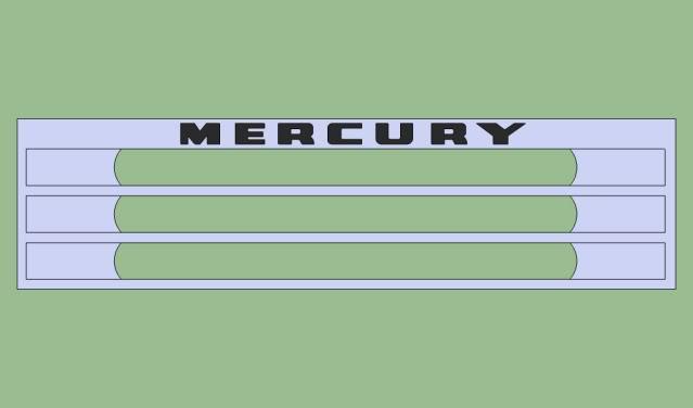 Mercury Khronos Grill