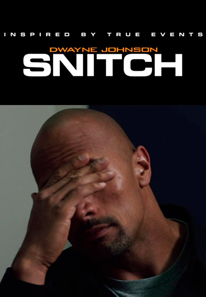 "Dwayne ""The Rock"" Johnson Snitch-2013-poster-provisional"