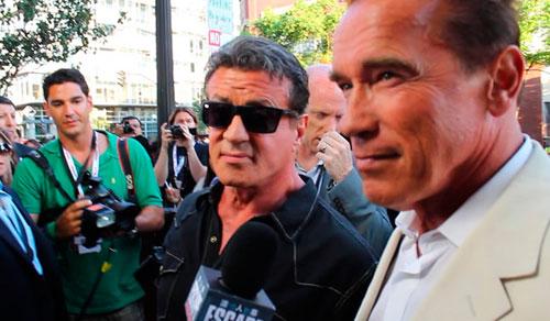 The Expendables 3 (Los Mercenarios 3) 2014 - Página 2 Stallone-y-Arnie-entrevista-comic-con1_zpsffea0db0