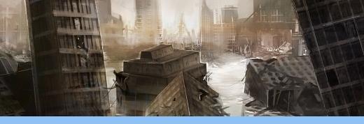 Ciudad en ruinas