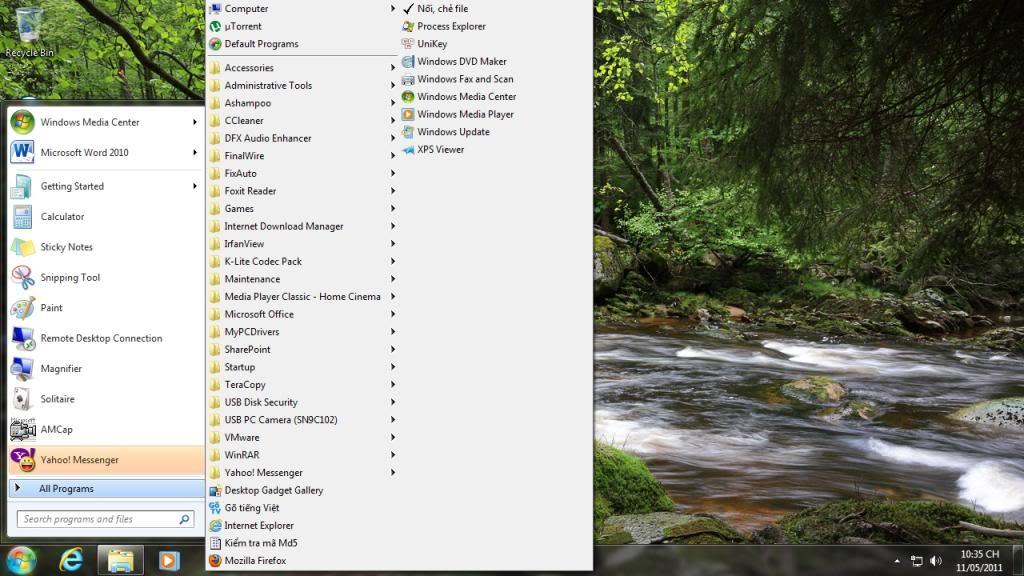 Bản ghost Windows 7 Ultimate SP1 32 bit, Office 2010 Menuhiendai_zps4e0458fc