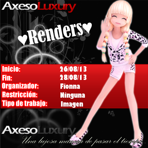 [AUD][AxLUX][Evento Multimedia] ♥Renders♥ [26-28/08/13] 1_zps3dd158fb