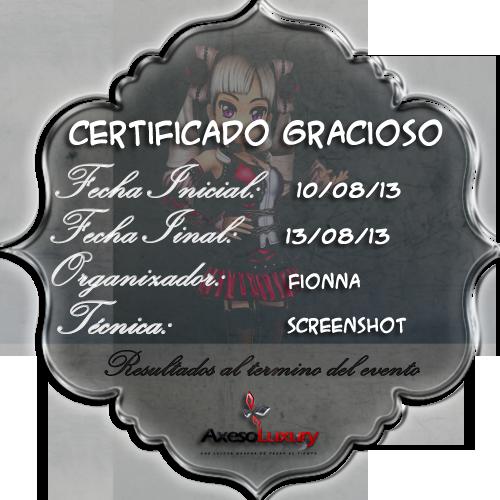 [AUD][AxLuxury][Evento Multimedia] Certificado gracioso ^u^ [10-13/08/13] 4_zps53d97e10