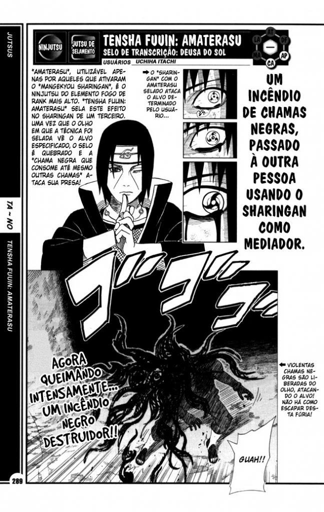 Como o Itachi passou Amaterasu para o Sasuke usar no Obito? 289-TenshaFuuinAmaterasu