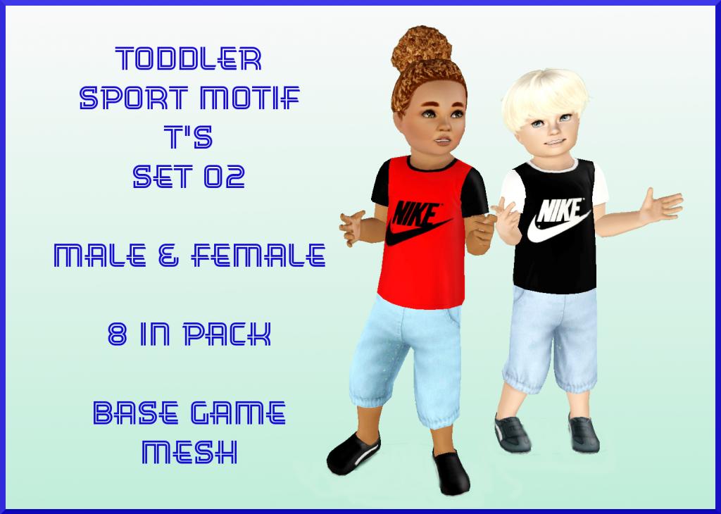 Sport Motif Toddler T's SET 02 by InaMac69 Set02_zps33406719
