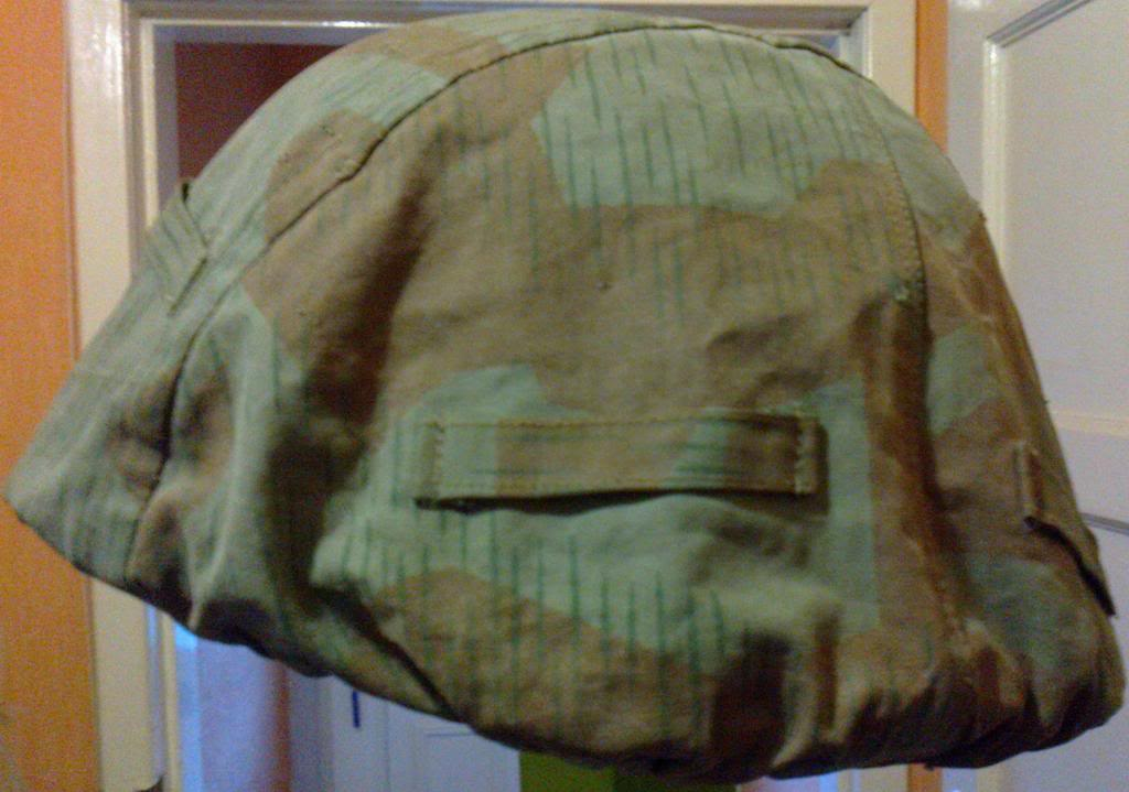 Swiss/Swedish helmet cover? Photo0279