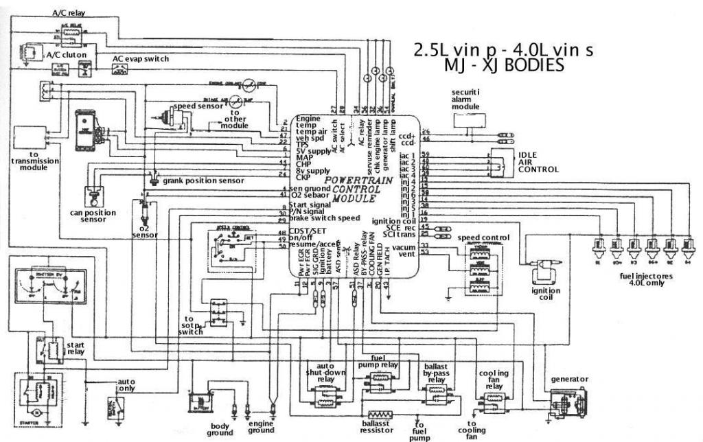 Jeep Mj Xj Zpse D Cd on 2000 Jeep Grand Cherokee Engine Diagram
