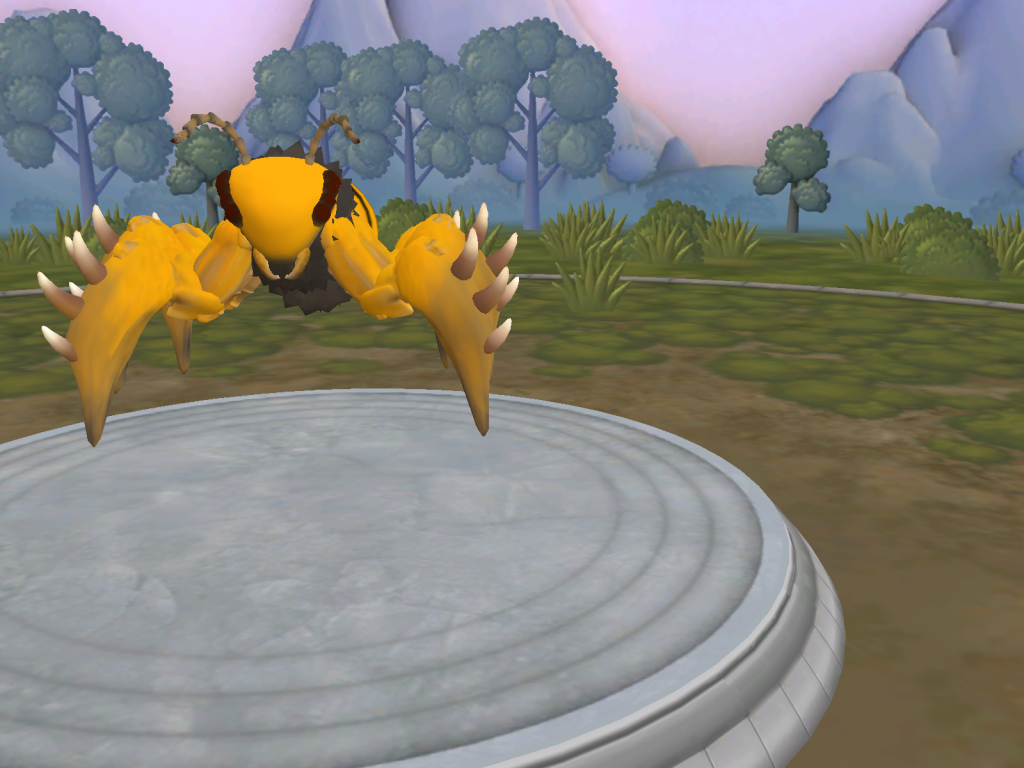 No recuerdo que nombre le puse... Da igual, es una abeja o avispa Spore_21-12-2014_14-14-02_zpse412e46b