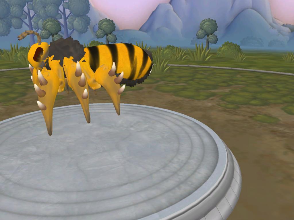 No recuerdo que nombre le puse... Da igual, es una abeja o avispa Spore_21-12-2014_14-14-13_zpsf7a874d7