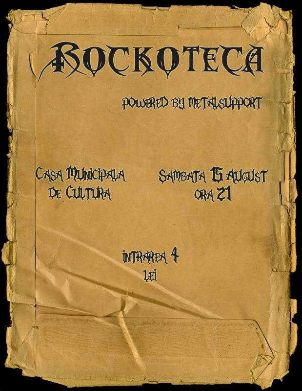 Rockoteci Dorohoi Afis15augustfinal