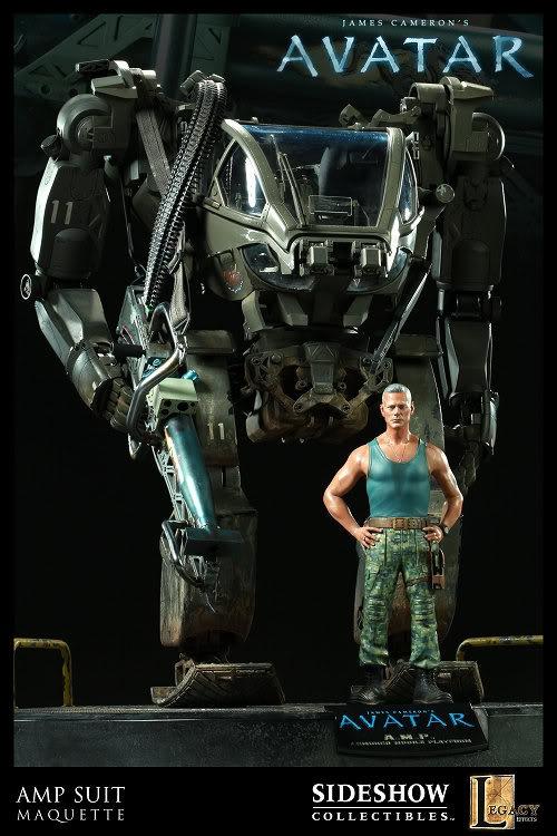 Exoesqueletos Avatar_AMP_suit_maquette11_june2010