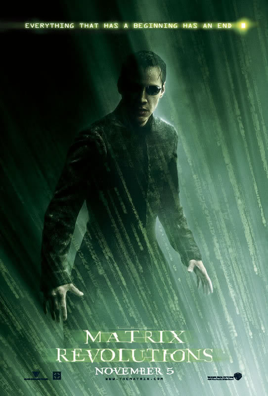 The Matrix Trilogy (1,2 & 3), GreekUploaders Links - Ελληνικοί Υπότιτλοι Rvposterneowy8