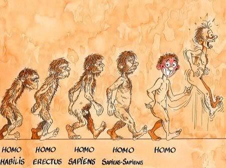 GAMBAR LUCU - Page 2 Evolusi