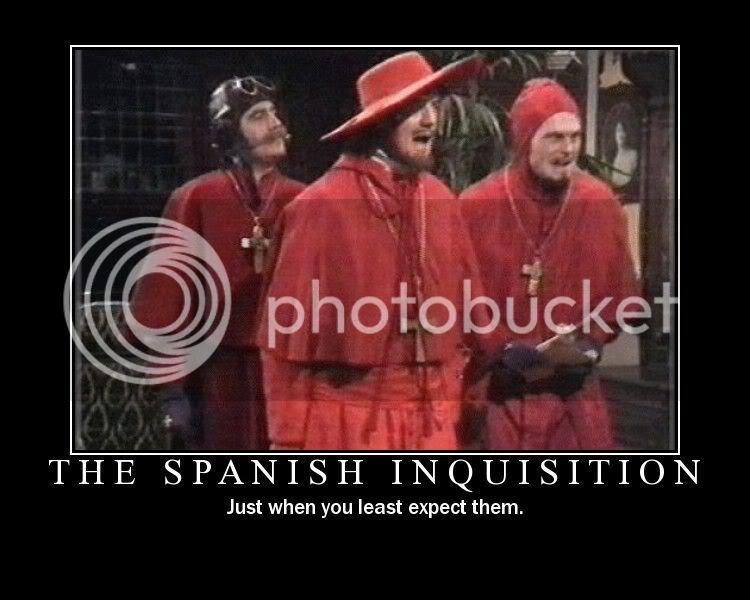 THREAD OF TOTAL RANDOMNESS Inquisition