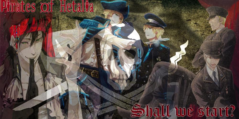 Hetalia Pirates