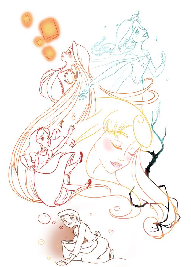 Concours de production artistique : Intersaison : Thème libre. Blondes_couleur_zps8140b74c