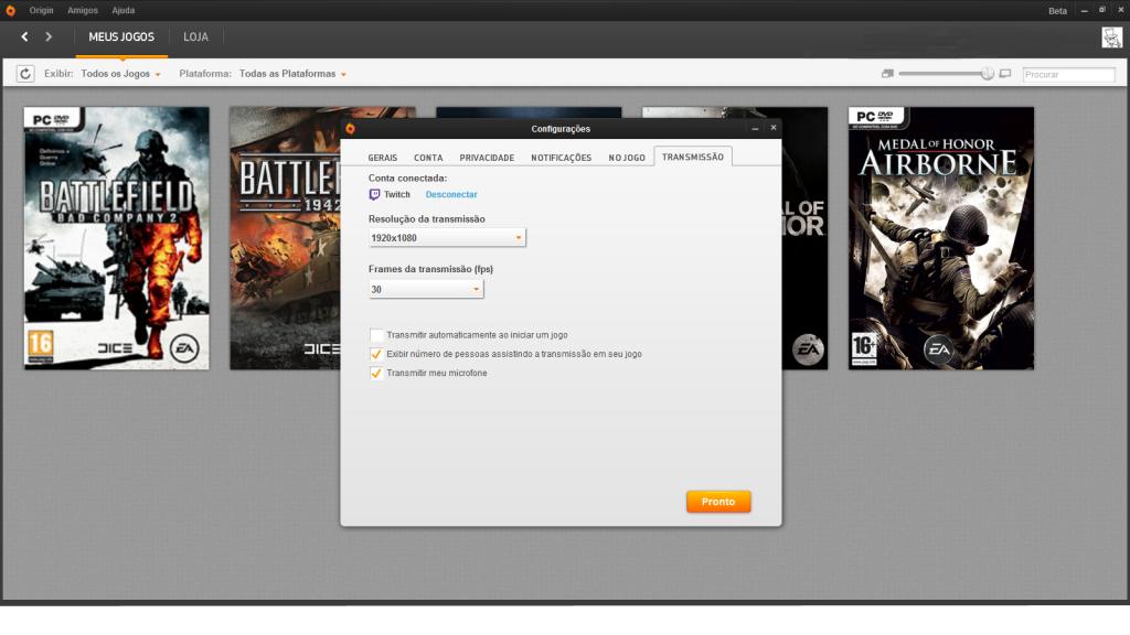 Origin inclui agora transmissão de games ao vivo Untitled-1