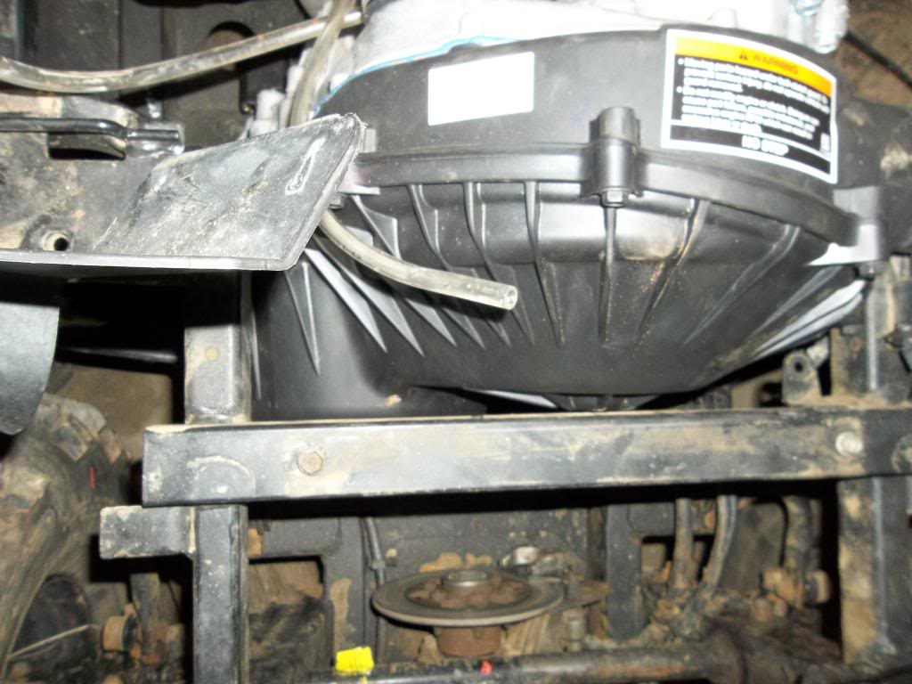 Yanmar diesel into '06 660 Rhino
