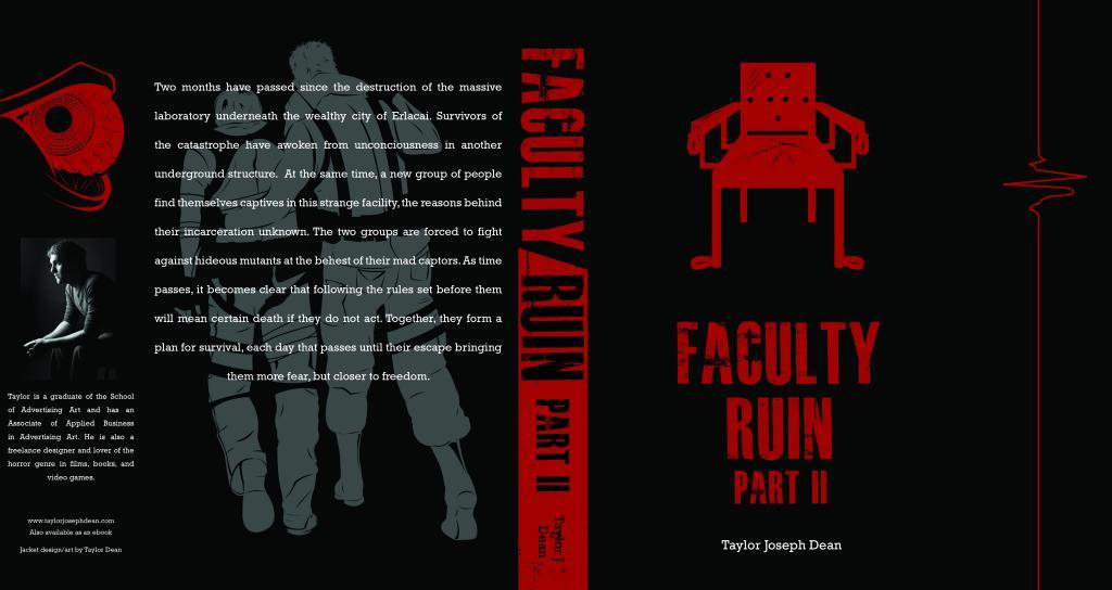 My book, Faculty Ruin Part II, releases soon! FacultyRuinPartIIHardbackCover_zps7a467a49