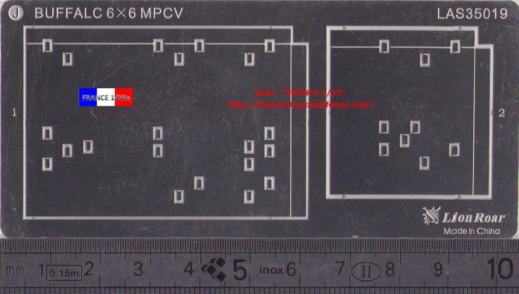 Bare-Armor pour Buffalo 6X6 MPCV. Lion-Roar, ref LAS35019. Photodécoupe et métal. FRANCE135_BAREARMOR_LION-ROAR_1-35_REFLAS35019_11_zps76723262