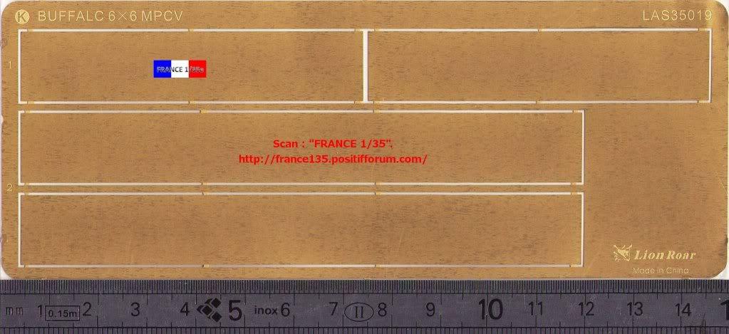 Bare-Armor pour Buffalo 6X6 MPCV. Lion-Roar, ref LAS35019. Photodécoupe et métal. FRANCE135_BAREARMOR_LION-ROAR_1-35_REFLAS35019_12_zpsb3da57f5