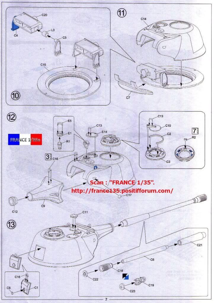 """Panzerkampfwagen VII """"Löwe"""". Amusing-Hobby (Amusinghobby). 1/35, ref 35A005. Plastique injecté, métal et photodécoupe. FRANCE135_PZKWVIILOWE_AMUSINGHOBBY_1-35_REF35A005_41_zps74a0dffa"""