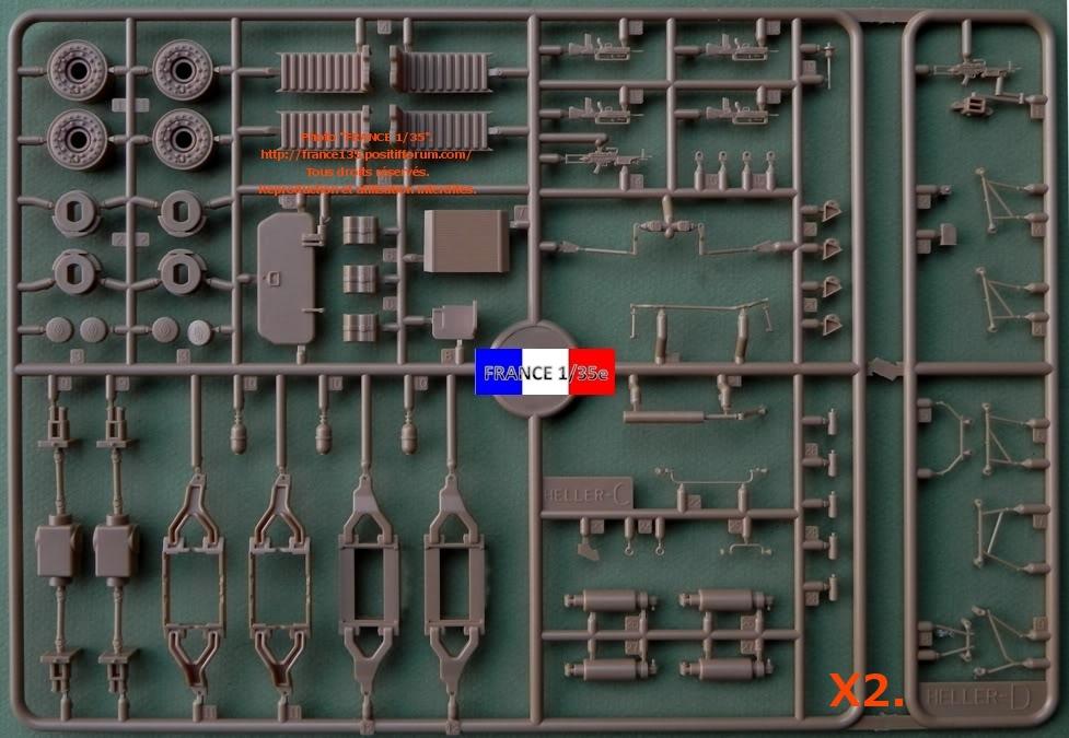 VBCI, Véhicule Blindé de Combat d'Infanterie. HELLER. 1/35, ref 81147. Plastique injecté. HELLER_1-35_VBCI_14_zpsb83f93b1