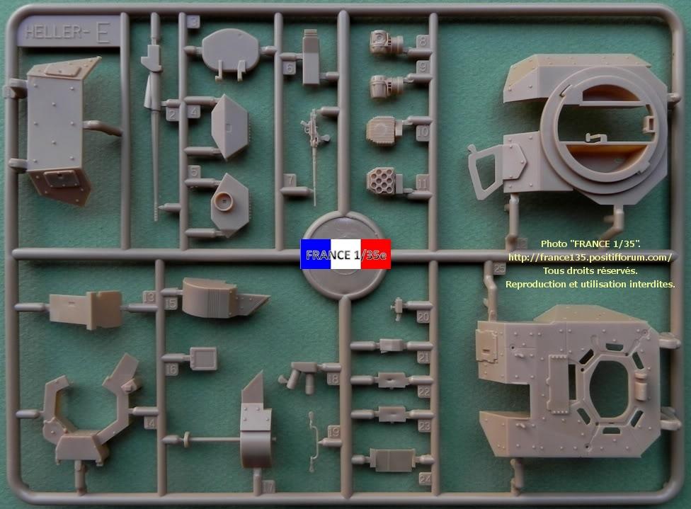 VBCI, Véhicule Blindé de Combat d'Infanterie. HELLER. 1/35, ref 81147. Plastique injecté. HELLER_1-35_VBCI_20_zps7dc15cf4