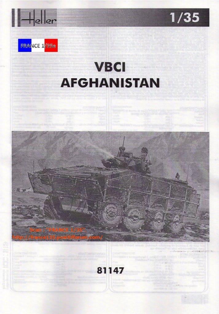 VBCI, Véhicule Blindé de Combat d'Infanterie. HELLER. 1/35, ref 81147. Plastique injecté. HELLER_1-35_VBCI_37_zpscdbac29a