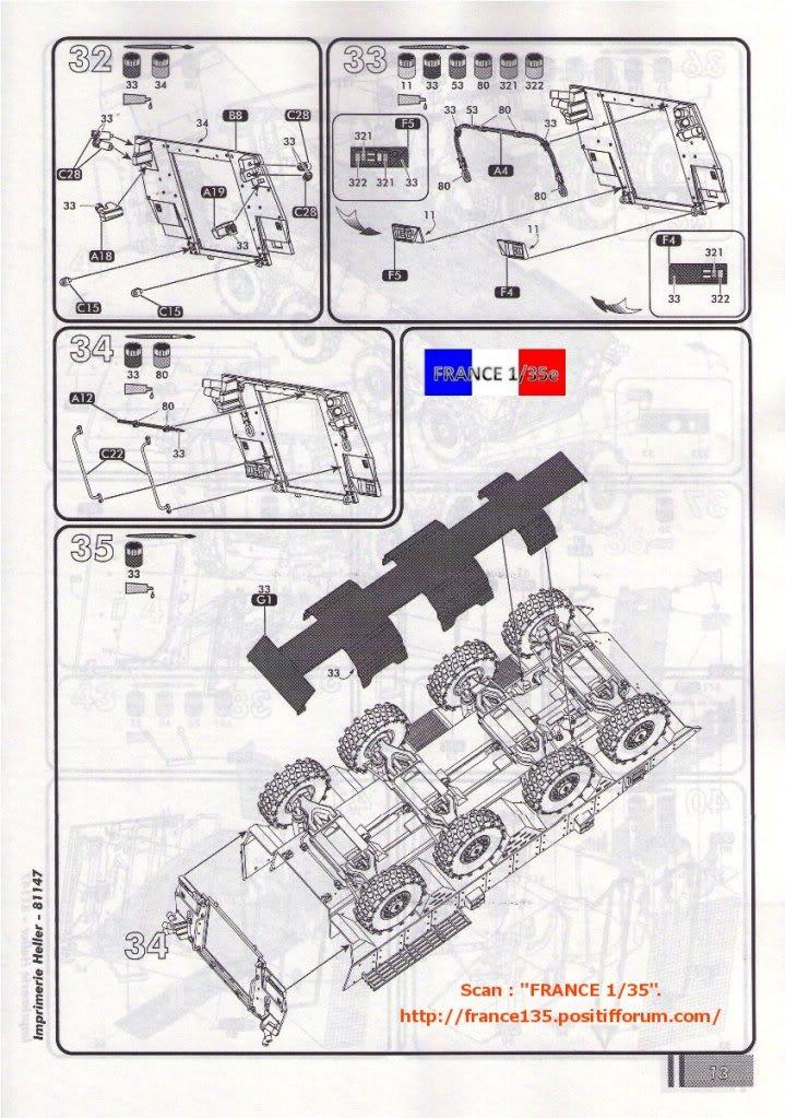 VBCI, Véhicule Blindé de Combat d'Infanterie. HELLER. 1/35, ref 81147. Plastique injecté. HELLER_1-35_VBCI_39_zpsfdbf08c8