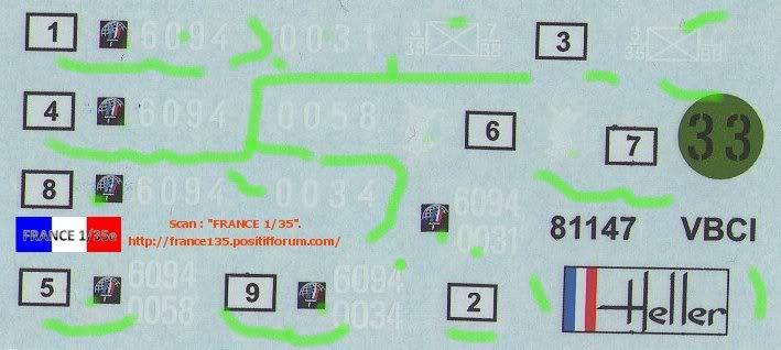 VBCI, Véhicule Blindé de Combat d'Infanterie. HELLER. 1/35, ref 81147. Plastique injecté. HELLER_1-35_VBCI_42_zps5c90feff