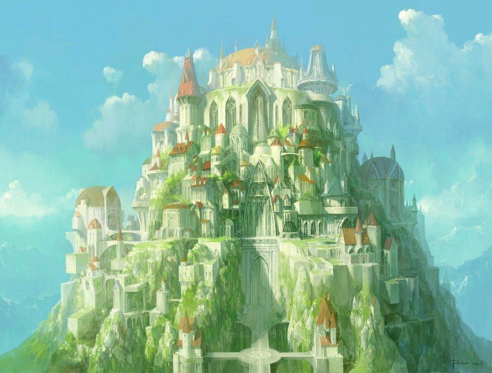 Живопись на тему фантастики, фэнтези, сказки, сюрреализма 1325007253_1city-fairy-38_zpsfa044377