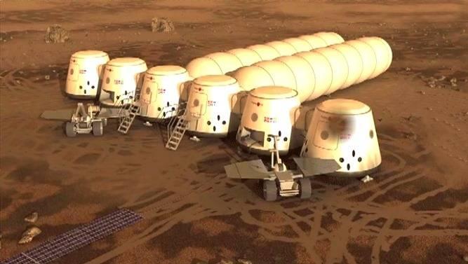 Космос, пилотируемый полет на планету Марс и т.д. Mars-one_zps30f51637