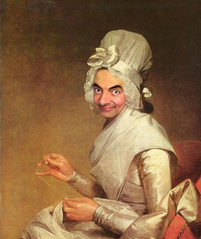 Улыбка (юмор, добрые анекдоты, смешные картинки) - Страница 3 Mr-bean-historic-portraits-rodney-pike-25_zps7db61d29