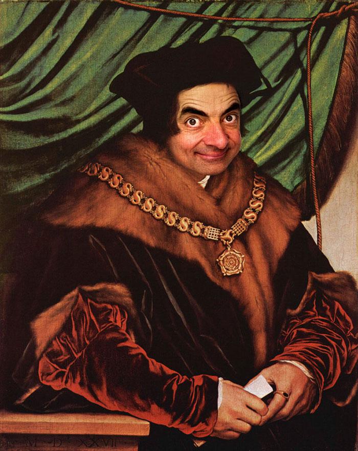 Улыбка (юмор, добрые анекдоты, смешные картинки) - Страница 3 Mr-bean-historic-portraits-rodney-pike-26_zpsac1ae3ca
