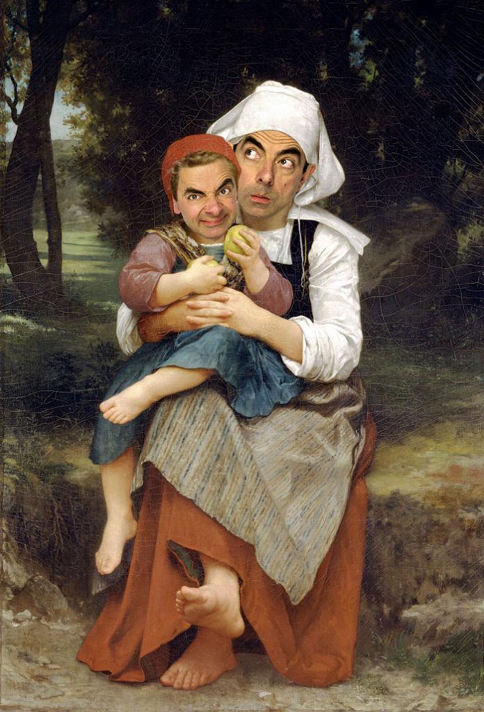 Улыбка (юмор, добрые анекдоты, смешные картинки) - Страница 3 Mr-bean-historic-portraits-rodney-pike-29_zpsca7d0413