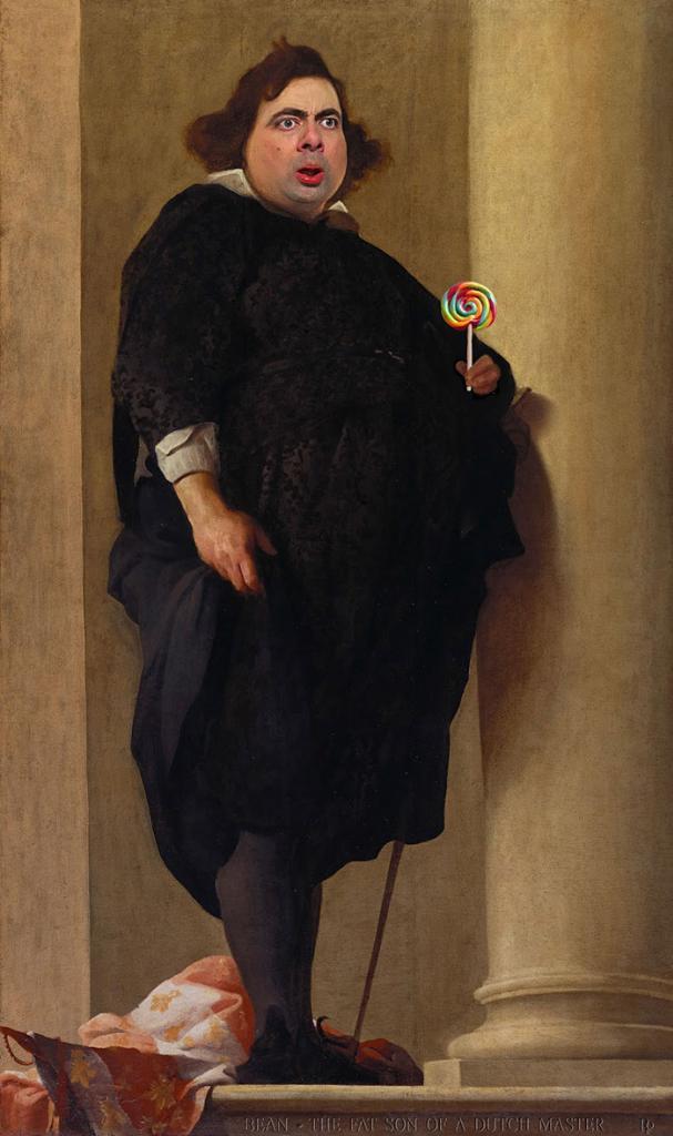 Улыбка (юмор, добрые анекдоты, смешные картинки) - Страница 3 Mr-bean-historic-portraits-rodney-pike-30_zps48e3fc2f