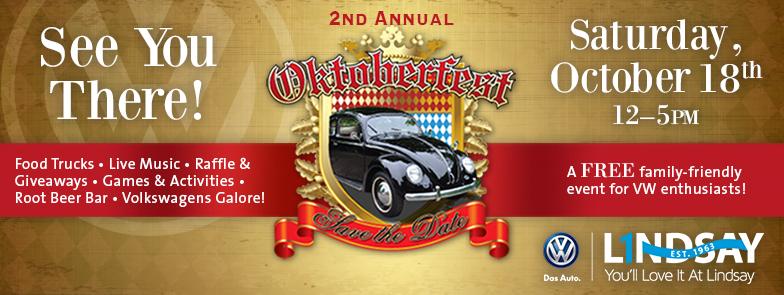 2nd Annual Oktoberfest at Lindsay Volkswagen! VWOctoberfest_FBEventImage_V2_zps3b3a2896
