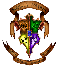 What would happen if Medusa stared at Slenderman? SNcoatofarms-2_zps8bebcd1e
