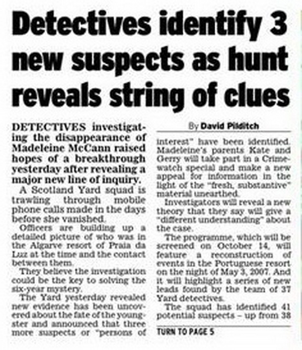 OPERATION GRANGE - Independent 4/10/13 SY Review Team says there's now *41* persons of interest, and they're trying with the help of Interpol to track mobile 'phones linked to 31 countries worldwide... *PLUS* A new Crimewatch TV appeal in FOUR countries 600ADffffHoz_zps54151771