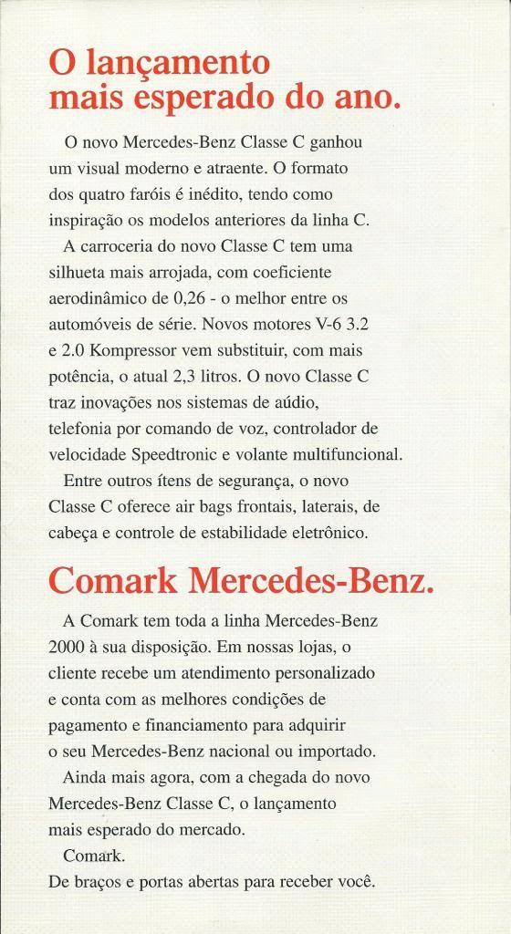 Folhetos de Concessionários COMARK03