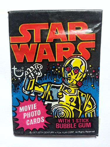 Bud's Star Wars Vintage Collectible reviews and other things Bud likes! Topps1977StarWars_zps9b5d9d0c