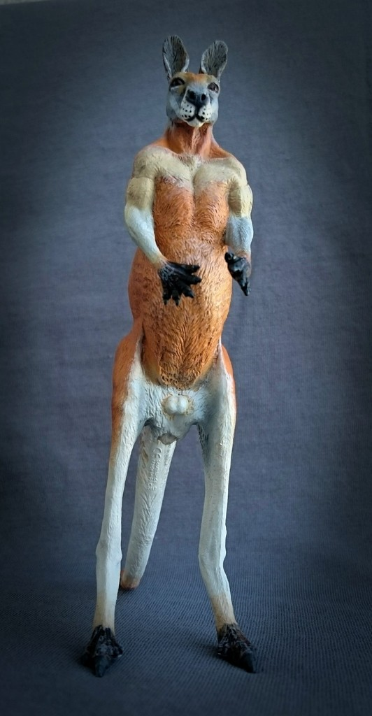 Southlands Replicas - Red Kangaroo Buck, Dingo and Echidna 13_zpsw2guuium