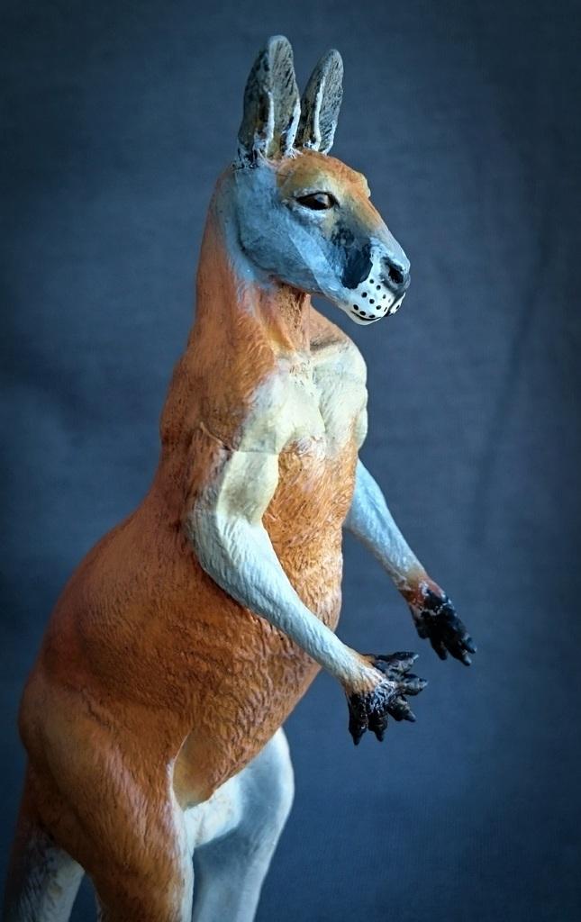 Southlands Replicas - Red Kangaroo Buck, Dingo and Echidna 15_zpsx2yof4zz