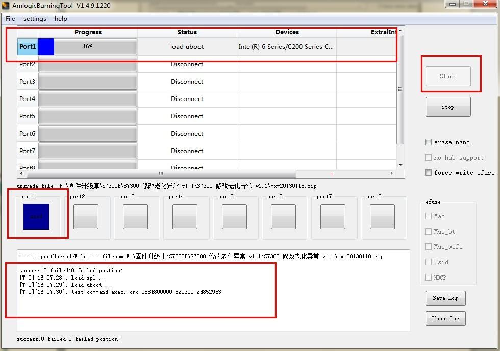 Débriquer sa JXD S7300B ( Validé !) Start