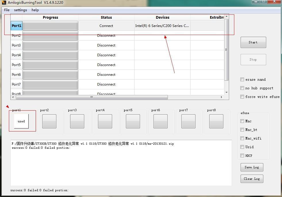 Débriquer sa JXD S7300B ( Validé !) Port1