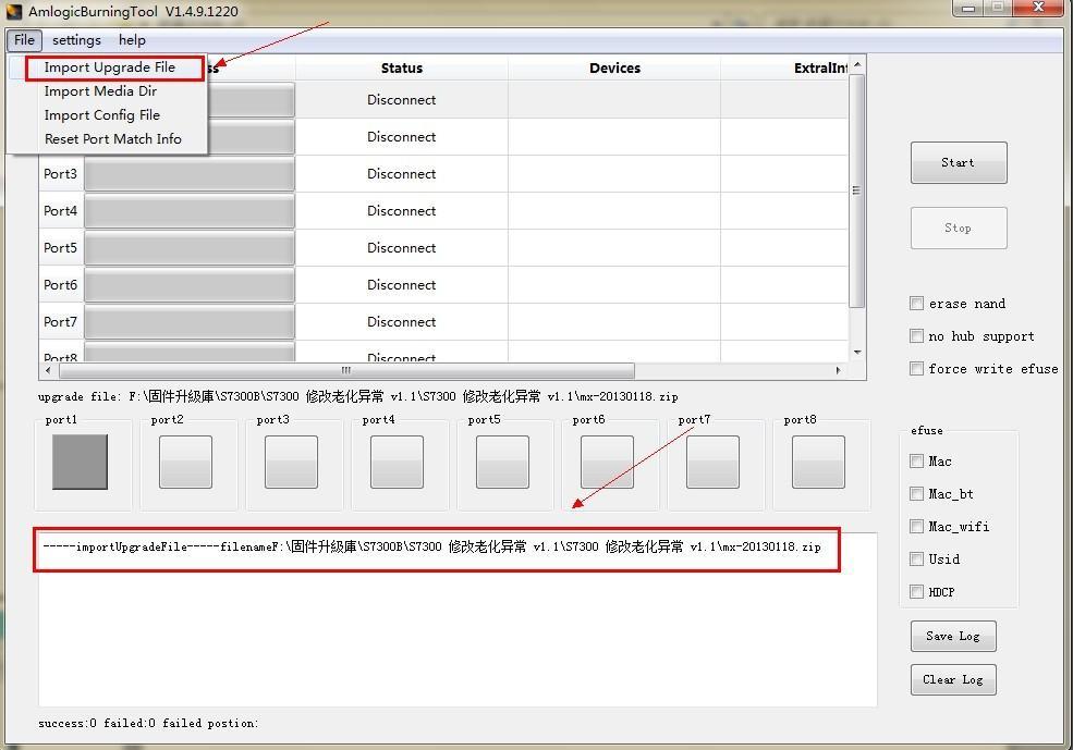 Débriquer sa JXD S7300B ( Validé !) Upgradezip