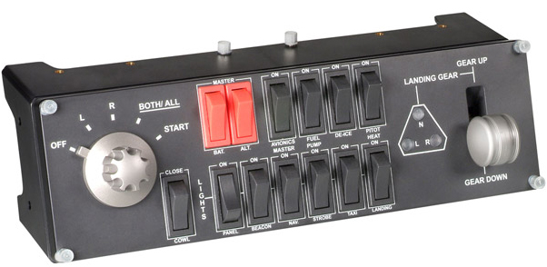 Switch Panel caseiro com placa de Controle USB _saitekproflightswitchtpanel_zps290decf3